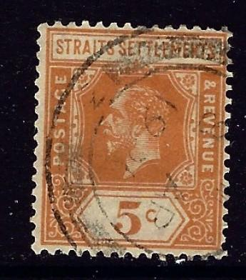 Straits Settlements 155 Used 1912 issue