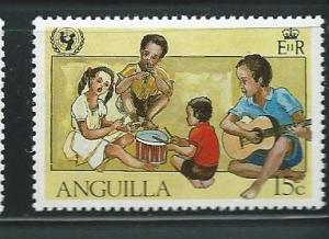 Anguilla #450 Children playing Instruments  (MNH)  CV $0.40