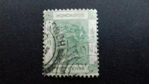 Hong Kong 1900 -1902 Queen Victoria Used