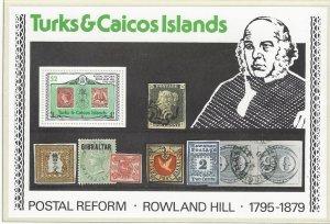Turks & Caicos 396a  MNH   Rowland Hill