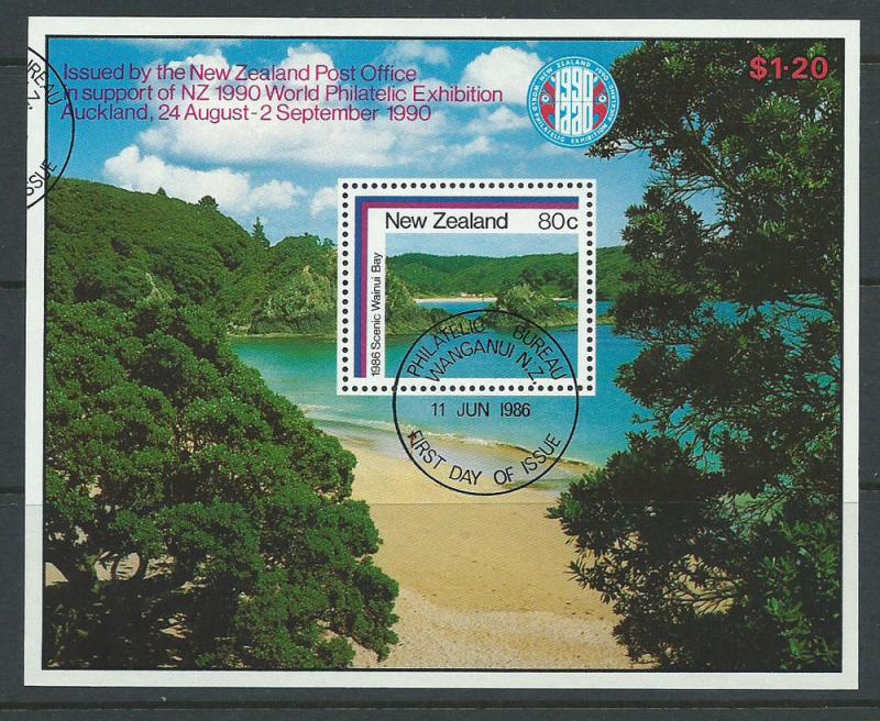 New Zealand SG MS 1399 Philatelic Bureau Cancel Very Fine