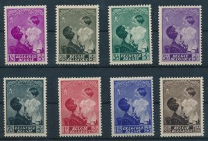 [I1892] Belgium 1937 Queen Astrid good set of stamps very fine MNH $55