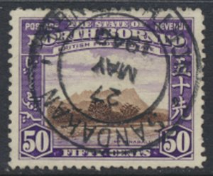 North Borneo  SG 314 SC# 204 Used    - See scans and details