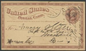 TEXAS JACK COUNTY (1875 Jacksborough) DPO 1858-1889 (228)