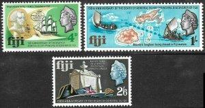 [1036] Fiji # 233 - 35 Mint Never Hinged