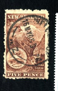 NEW ZEALAND #77A USED FVF Cat $25