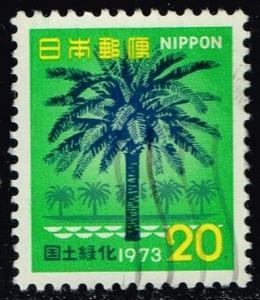 Japan #1137 Phoenix Tree; Used (0.25)
