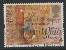 Great Britain SG 1805  Used  - Greetings Booklet Messages
