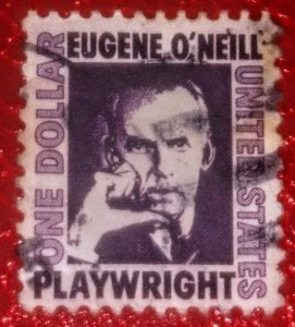 USA 1294 – 1967 $1 Prominent Americans: Eugene O'Neill used xf