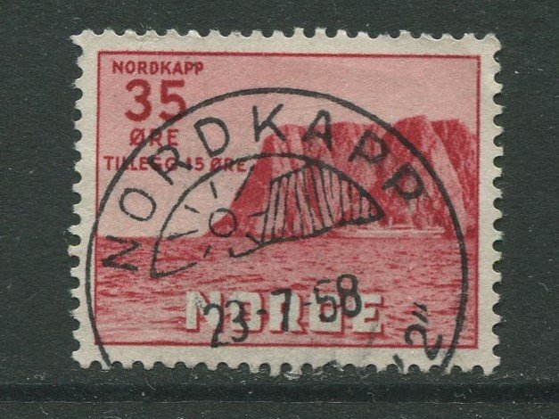 STAMP STATION PERTH Norway #B60 North Cape Type Issue 1953 FU