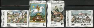 Czechoslovakia Scott 1681-84 MNH** set