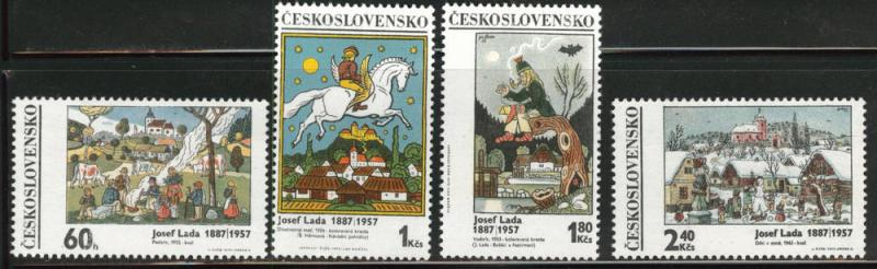Czechoslovakia Scott 1681-84 MNH** set