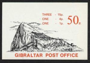 Gibraltar 407b Booklet SB6 MNH Queen Elizabeth II