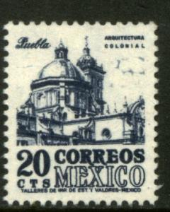 MEXICO 878a, 20cents 1950 Definitive 2nd Printing wmk 300. MINT, NH. F-VF.