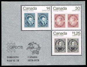 CANADA STAMP 1978 CAPEX '78 International Philatelic Exhibition, Toronto MNH