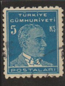 Turkey Sc#1024 Used