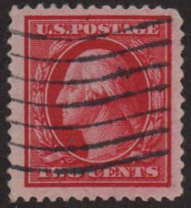 MALACK 332 VF/XF Jumbo used stamp, SELECT GEM!! w1698