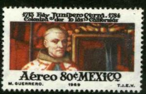 MEXICO C346 In Honor of Fray Junipero Serra. Mint NH. VF..