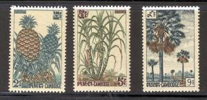 CAMBODIA 112-114 MNH PINEAPPLES