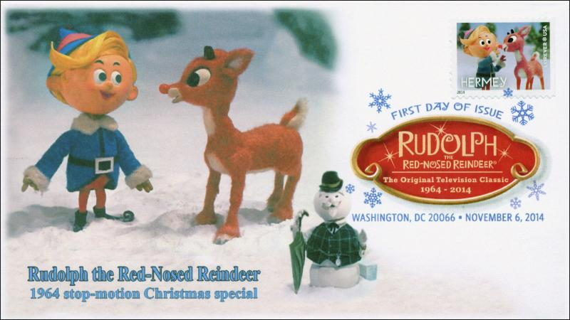 2014, Rudolph theRed-nosed Reindeer,  DCP, Hermey, 14-209