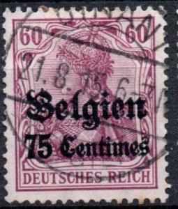 Belgium - German Occupation - 1914-1915 #N6 *USED*