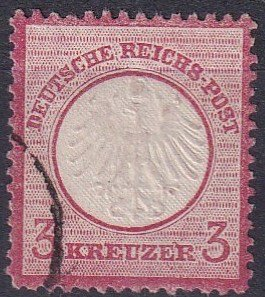 Germany #9  F-VF  Used  CV $14.50  (Z2847)