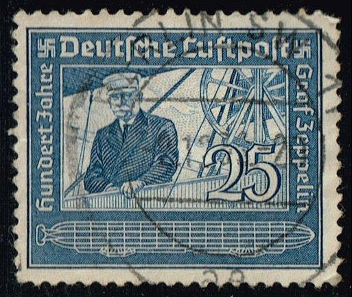 Germany #C59 Count Zeppelin; Used (1.50)