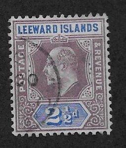 LEEWARD ISLANDS SC# 23  FVF/U 1902
