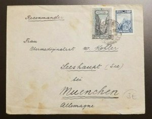 Vintage Constantinople Turkey to Munich Germany Cover