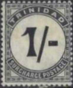 Trinidad 1852 SC J9 Mint