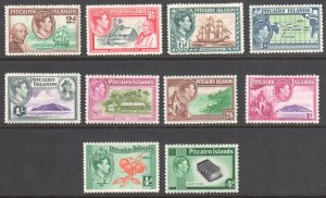 Pitcairn Islands #1 to 8 VF H