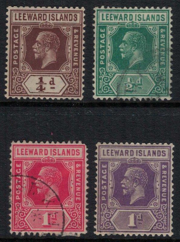 Leeward Islands #61-4*/u  CV $6.40