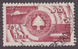 Lebanon C248 Symbols of Communications 1957