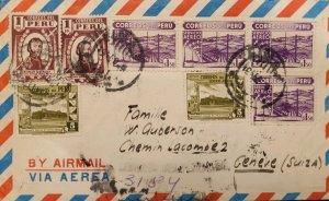 O) PERU, TORIBIO DE LUZURIAGA NATIONAL RADIO OF PERU, GOVERNMENT RESTAURANT AT C