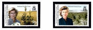 Falkland Is 756-57 MNH 2000 Visit of Princess Alexandra