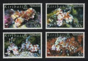 Kiribati WWF Harlequin Shrimp 4v SG#746-749 MI#983-986 SC#875-878