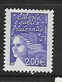 FRANCE, 2863, MNH, MARIANNE