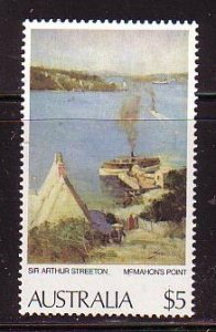 Australia Sc 577 1979 $5 Painting, McMahons Point,  stamp mint NH