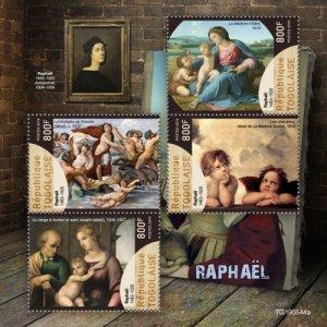 Stamps TOGO 05 11 2019 Code: TG190544a-TG190564b - Raphael.
