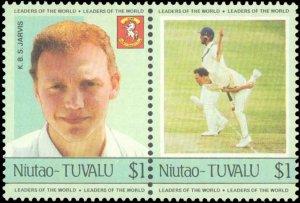 Tuvalu-Niutao #21-24, Complete Set, Pairs, 1985, Sports, Never Hinged