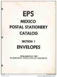 G) EPS  MEXICO POSTAL STATIONERY CATALOG, SECTION 1 ENVELOPE