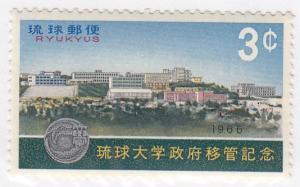 Ryukyu, Sc 145, MNH, 1966, University
