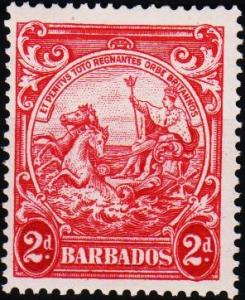 Barbados. 1938 2d  S.G.250d Mounted Mint