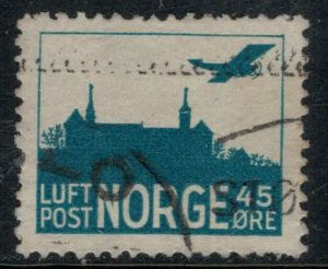 Norway #C1  CV $5.00
