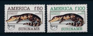 [SU780] Suriname Surinam 1993 UPAEP Crocodiles MNH