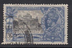 India, Sc 147 (SG 245), used