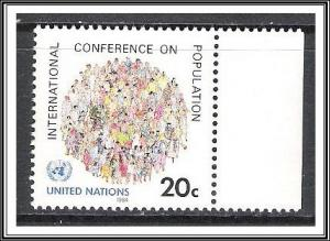 UN New York #417 Population Conference MNH