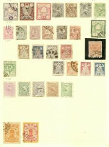 Persia Early Collection on Album Pages