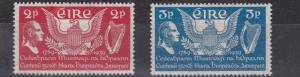 IRELAND 1939    S G 109 - 110  US CONSTITUTION    MH