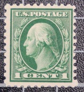 Scott 462 1 Cent Washington OG MH Nice Stamp SCV $7.00